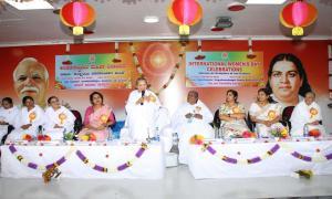 3. Blessing by Sudesh Didi, European Director of the Brahma Kumaris World Spiritual University