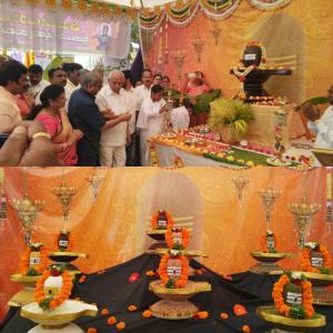 10. Mr. Yadiyurappa, Hon. Chief Minister of Karnataka participated in MahaShivaratri Celebratioms at Mysore on 23rd Feb