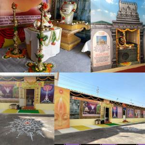 4. Dwadasha Linga's Dharshana at Retreat Center