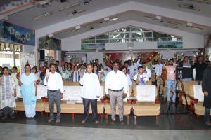 8. At finally launching the programme Ambazidor of Digital Wellness through Torch