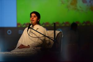 1. Sister BK Shivani taken the Session-Healing the healer