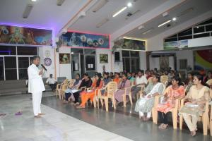 4. Brother Ramachandra Rao conducted the class