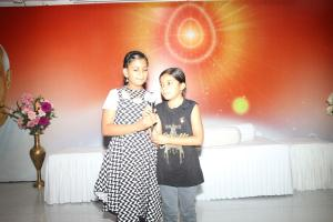 8. Singing the Song at Cultural program