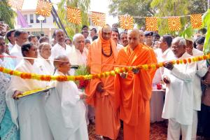 2. Stall Inauguration by Swamiji's