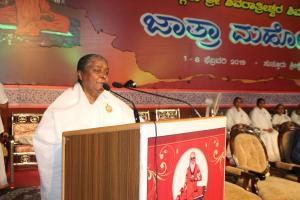 5. Speech by BK Lakshmi Behn
