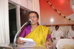 7. Speech by Manjula Manasa, former chairperson of Karnataka State Women's Commission